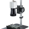 Installed infrared camera with microscope optics
