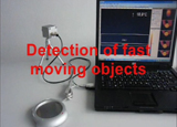 Measuring of fast objects with IR cameras | Video 1: Image analysis