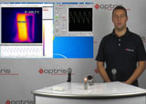 Webinar-Experiment: Temperature measurements with a high sampling rate within a spectral range of 1 µm