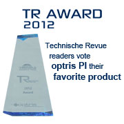 IR camera optris PI wins award as favorite product